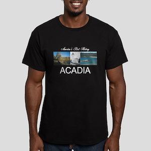 ABH Acadia Men's Fitted T-Shirt (dark)