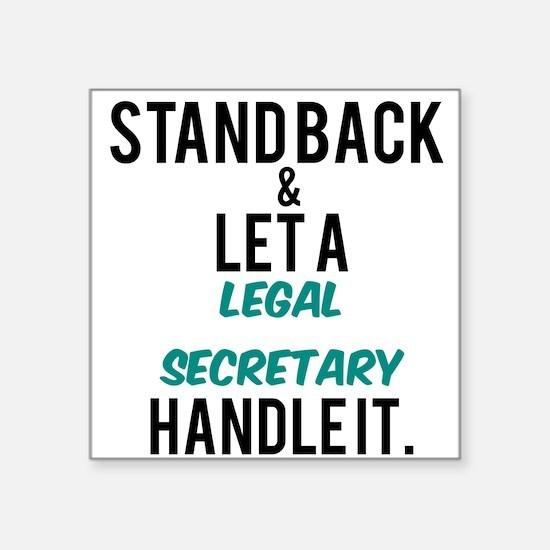 Legal Secretary Sticker