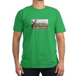 ABH Castle Mountains Men's Fitted T-Shirt (dark)