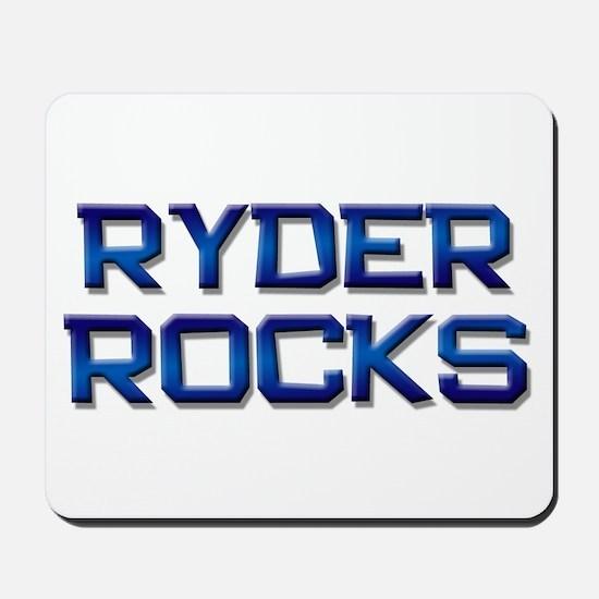 ryder rocks Mousepad