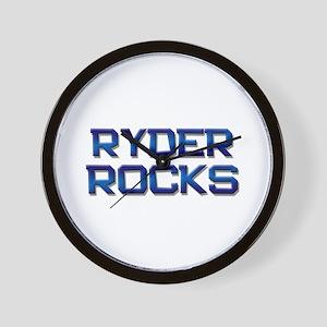 ryder rocks Wall Clock