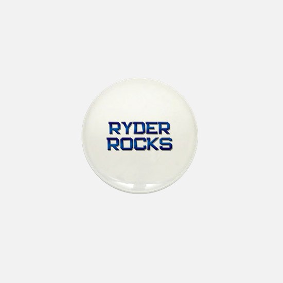 ryder rocks Mini Button