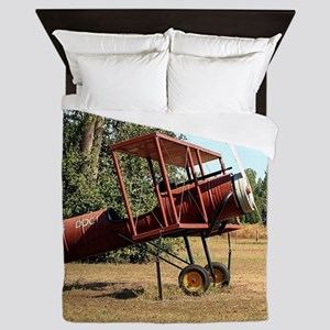 Flying doc! aircraft Queen Duvet