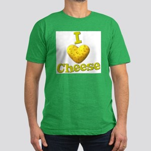 funny cute i heart love cheese cheesey heart Men's
