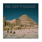 Step Pyramid Tile Coaster