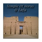Temple of Horus Tile Coaster