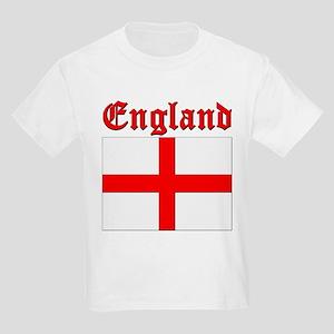 England (written) Flag Kids T-Shirt