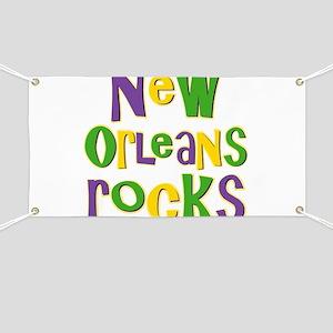 New Orleans Rocks Banner