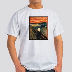 Ferret Scream Munch Light T-Shirt