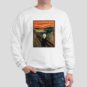 Ferret Scream Munch Sweatshirt
