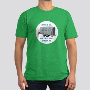 Home is Where You Park it (Tr Men's Fitted T-Shirt