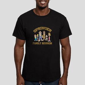 Springer Hillbilly Family Reu Men's Fitted T-Shirt