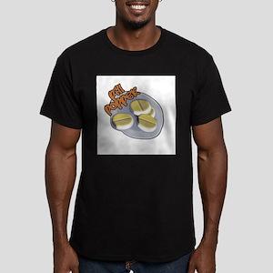 Pill Popper Men's Fitted T-Shirt (dark)