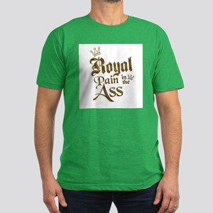 Royal Pain in the Ass Men's Fitted T-Shirt (dark)