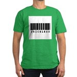 Priceless Barcode Design Men's Fitted T-Shirt (dar