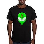 Dead Alien Men's Fitted T-Shirt (dark)