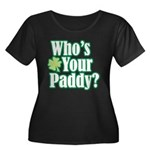 Who's Your Paddy? Women's Plus Size Scoop Neck Dar