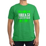 Area 51 Clean-Up Crew Men's Fitted T-Shirt (dark)