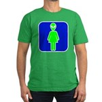 Alien Woman Men's Fitted T-Shirt (dark)