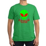 Abducted By Aliens Men's Fitted T-Shirt (dark)