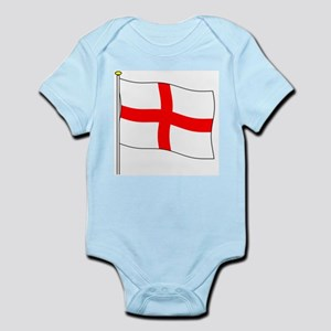 England Flagpole Infant Creeper