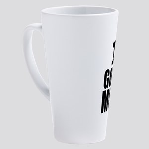I Love Gospel Music 17 oz Latte Mug