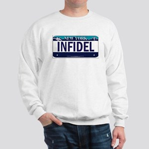 NY Infidel Vanity Plate Sweatshirt