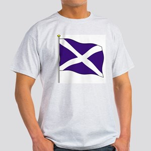 Scotland Flagpole Ash Grey T-Shirt