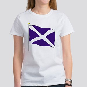 Scotland Flagpole Women's T-Shirt