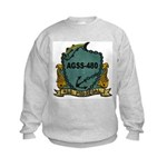 USS MEDREGAL Kids Sweatshirt