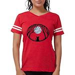 Fat Cat & Cat Lover Womens Football Shirt