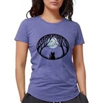 Fat Cat & Cat Lover Womens Tri-blend T-Shirt