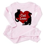 Fat Cat & Cat Lover Toddler Pink Pajamas