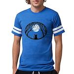 Fat Cat & Cat Lover Mens Football Shirt