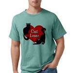 Fat Cat & Cat Lover Mens Comfort Colors® Shirt