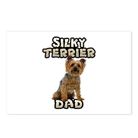 Silky Terrier Dad Postcards (Package of 8)