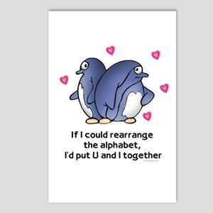 Alphabet Penguins Postcards (Package of 8)