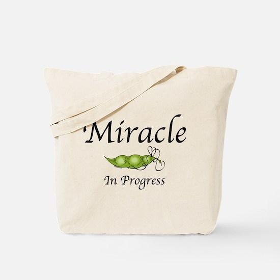 Miracle In Progress Tote Bag