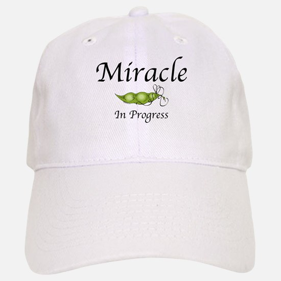 Miracle In Progress Baseball Baseball Cap