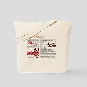 Louisiana Crawfish Peeling Tote Bag