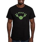 Peas Men's Fitted T-Shirt (dark)