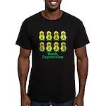Depression Awareness Ribbon D Men's Fitted T-Shirt