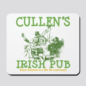 Cullen's Irish Pub Personalized Mousepad
