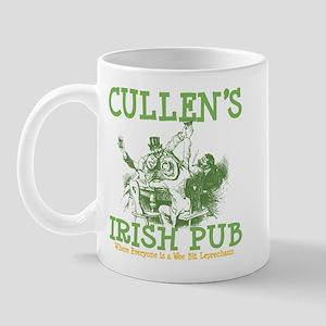 Cullen's Irish Pub Personalized Mug