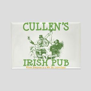 Cullen's Irish Pub Personalized Rectangle Magnet