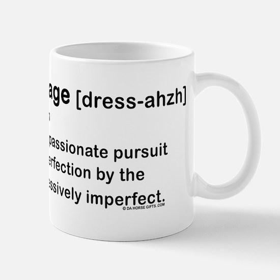 Dressage Horse Dictionary Mug