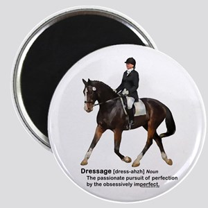 Dressage Horse Dictionary Magnet