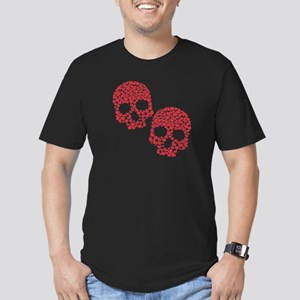 Love to the Bone Men's Fitted T-Shirt (dark)