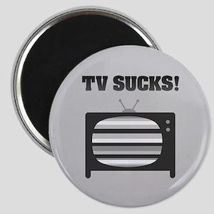 TV Sucks Magnet