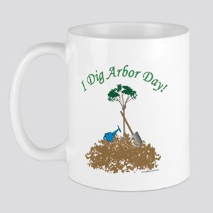 I Dig Arbor Day Mug